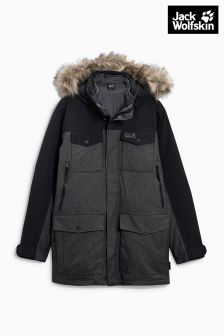 Jack Wolfskin Black Granite Cliff Jacket