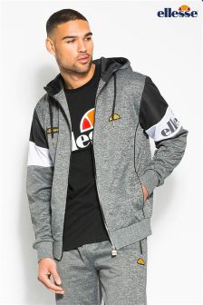 Ellesse Heritage Grey Woven Track Top