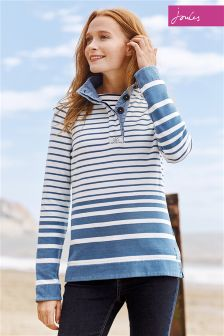 Joules Cowdray Saltwash Funnel Neck Sweat