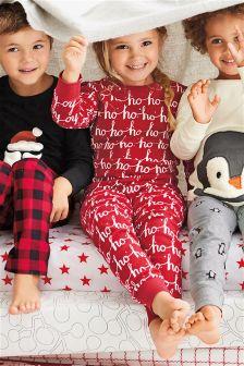Ho Ho Ho Pyjamas (3-16yrs)