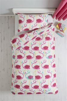 Fun Felicity Flamingo Bed Set