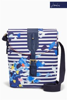 Joules Multi Flo Stripe Printed Coated Canvas Tourer Bag
