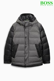 Boss Green Black Padded Jacket
