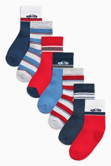 Transport Socks Seven Pack (Younger Boys)