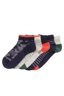 Multi Print Trainer Socks Five Pack (Older Boys)