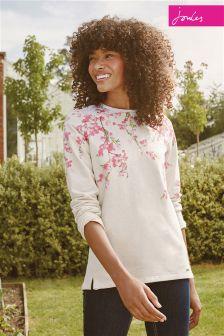 Joules Cream Blossom Clemence Sweatshirt
