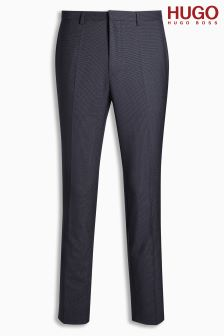Hugo By Hugo Boss Navy Suit Trousers