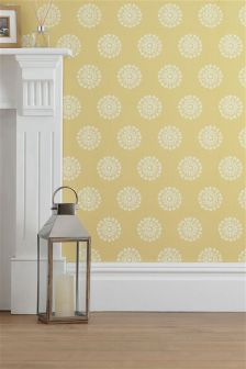 Ornate Motif Wallpaper