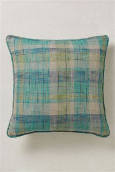 Astley Check Blue Cushion