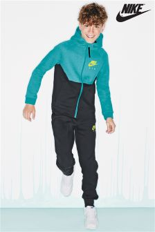 Nike Air Black/Green Tracksuit