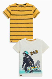 T-Shirts Two Pack (3-16yrs)