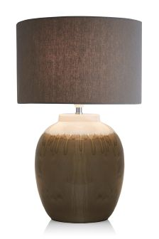 Dipped Glaze Ceramic Table Lamp