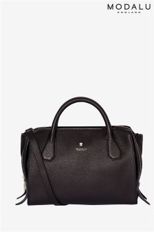 Modalu Willow Black Triple Compartment Bag