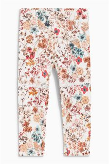 Floral Leggings (3mths-6yrs)