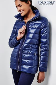 Ralph Lauren Golf Navy Down Fill Jacket