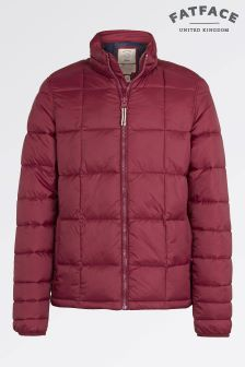 Fat Face Red Mountain Hill Padded Jacket
