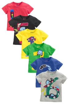 Short Sleeve T-Shirt (12mths-7yrs)