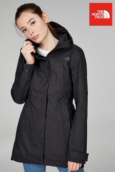 The North Face® Black City Midi Trench