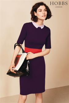 Hobbs Purple Christie Dress