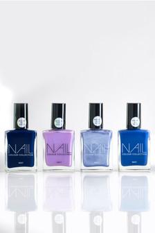 Set of 4 Purple Nail Polishes