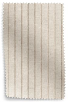 Washed Stripe Natural Fabric Roll