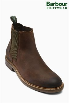 Barbour® Choco Brown Farsley Chelsea Boot