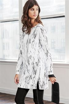 Jacquard Sweat Dress