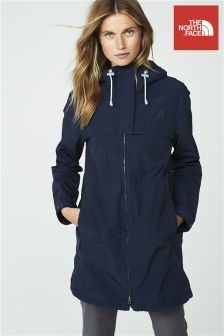 The North Face® Navy Cagoule Trench