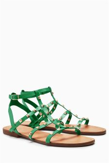 Gladiator Stud Sandals