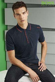 Boss Green Tipped Paule Poloshirt