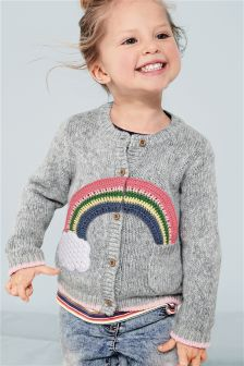Rainbow Cardigan (3mths-6yrs)
