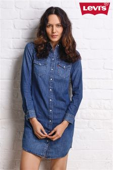 Levi's® Denim Iconic Western Dress