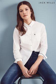 Jack Wills White Southbrook Oxford Shirt