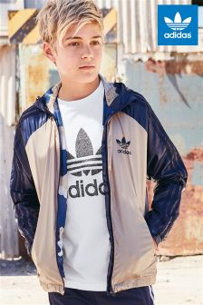 adidas Originals Khaki Windbreaker Jacket