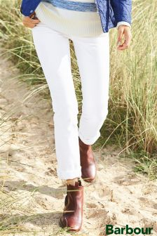 Barbour® White Eiko Chino