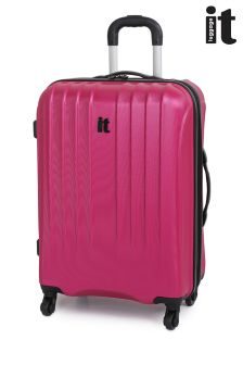 IT Luggage Worlds Ultra Strong Embossed Medium Case