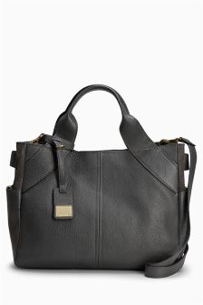 Leather Formal Tote Bag