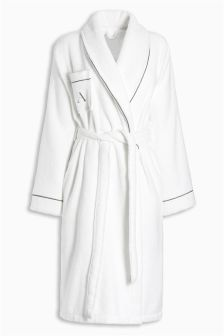 Towelling Alphabet Robe