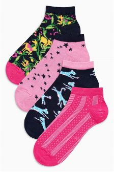 Pattern Trainer Socks Four Pack
