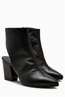 Open Back Shoe Boots