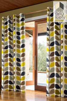 Orla Kiely Linear Stem Curtains