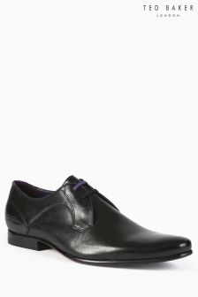 Ted Baker Black Martt Two Plain Derby Shoe