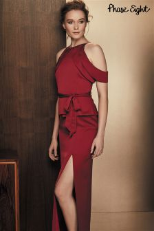 Phase Eight Red Amail Dress