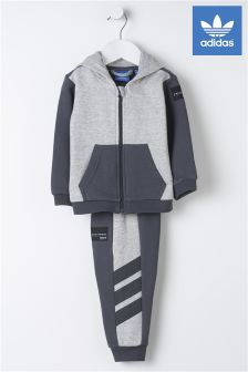 adidas Originals Baby Grey Tracksuit