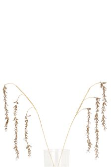 Set Of 2 Gold Glitter Draping Stems