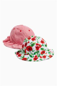Fisherman's Hats Two Pack (Younger Girls)