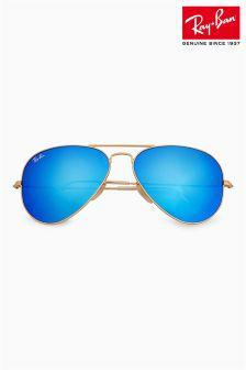 Ray-Ban® Large Metal Aviator Sunglasses