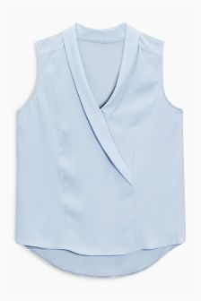Tux Sleeveless Top