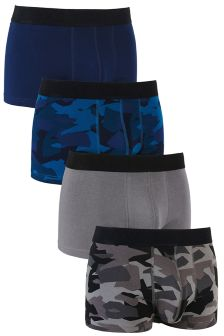 Camo Hipsters Four Pack