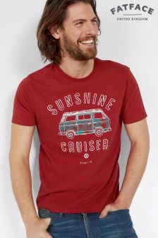 Fat Face Cardinal VW Sunshine Cruiser Graphic Tee
